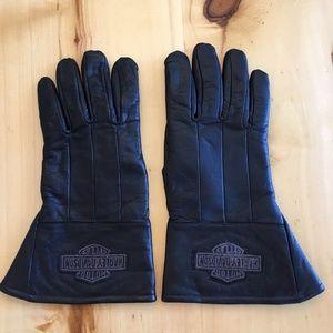 Genuine Harley Davidson Leather Long Gloves